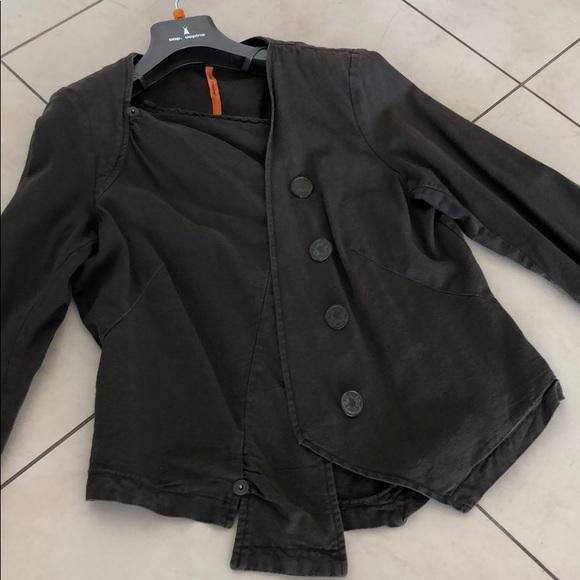 cop.copine Jackets & Blazers - COP.COPINE Dark Brown Jacket